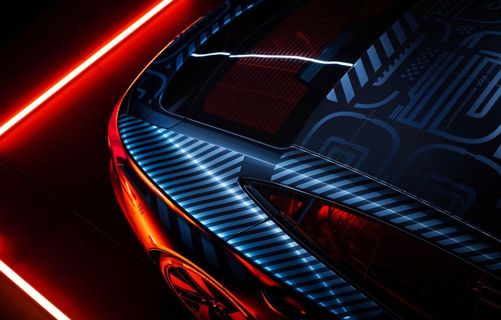 Audi publică teasere cu versiunea de serie a lui e-tron GT: sportiva electrică va avea autonomie de 400 de kilometri - Poza 18