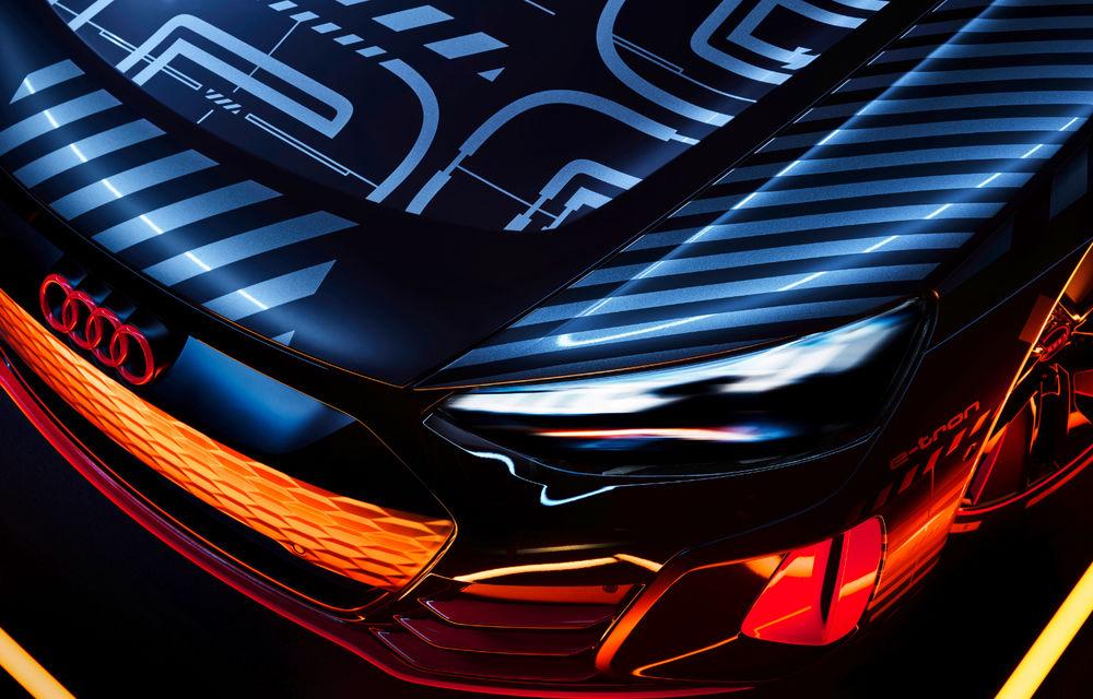 Audi publică teasere cu versiunea de serie a lui e-tron GT: sportiva electrică va avea autonomie de 400 de kilometri - Poza 15