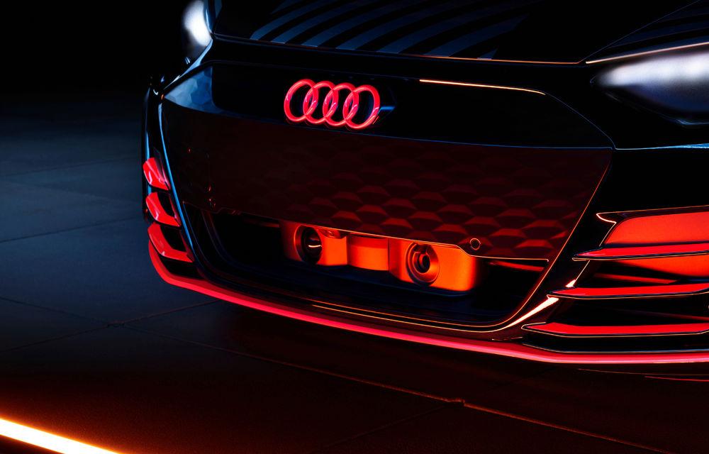 Audi publică teasere cu versiunea de serie a lui e-tron GT: sportiva electrică va avea autonomie de 400 de kilometri - Poza 11