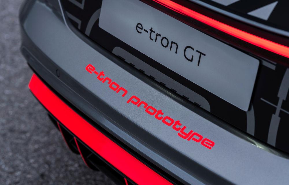 Audi publică teasere cu versiunea de serie a lui e-tron GT: sportiva electrică va avea autonomie de 400 de kilometri - Poza 48
