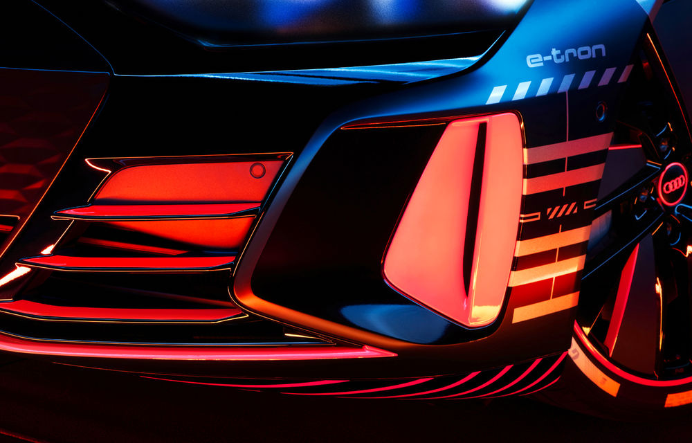 Audi publică teasere cu versiunea de serie a lui e-tron GT: sportiva electrică va avea autonomie de 400 de kilometri - Poza 10