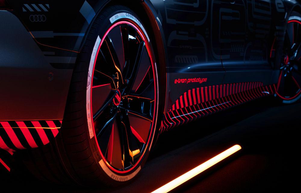 Audi publică teasere cu versiunea de serie a lui e-tron GT: sportiva electrică va avea autonomie de 400 de kilometri - Poza 26
