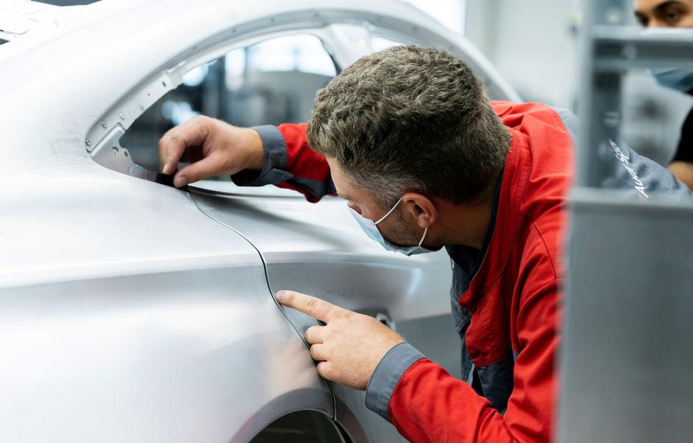 Audi publică teasere cu versiunea de serie a lui e-tron GT: sportiva electrică va avea autonomie de 400 de kilometri - Poza 104