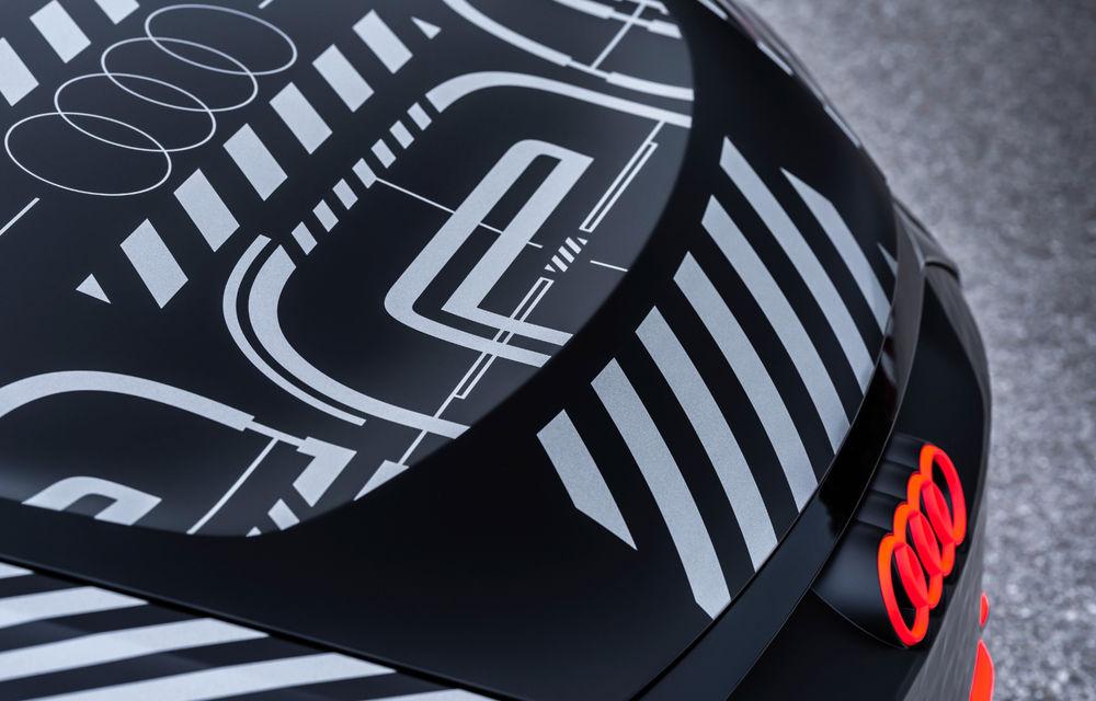 Audi publică teasere cu versiunea de serie a lui e-tron GT: sportiva electrică va avea autonomie de 400 de kilometri - Poza 80