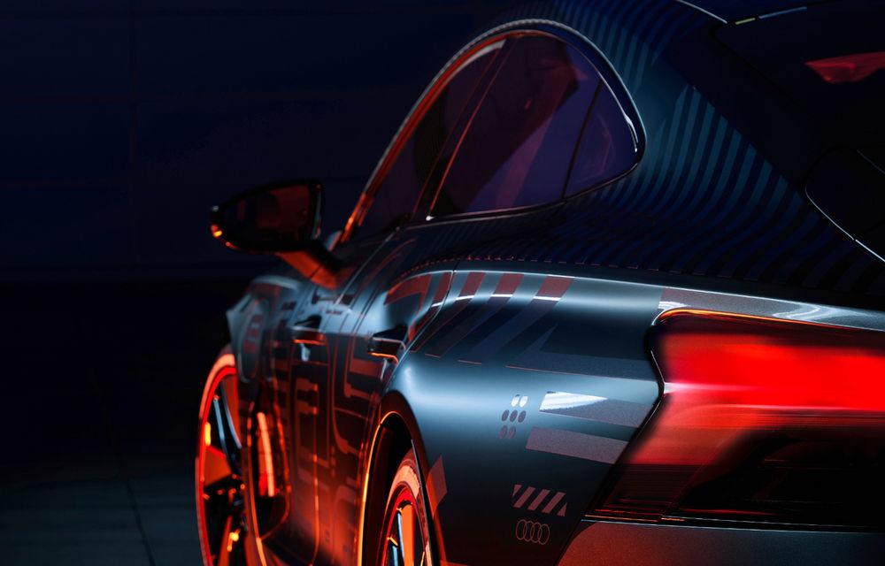 Audi publică teasere cu versiunea de serie a lui e-tron GT: sportiva electrică va avea autonomie de 400 de kilometri - Poza 44