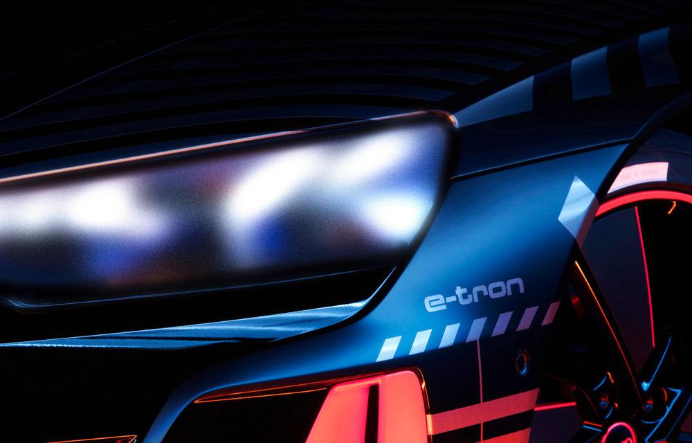 Audi publică teasere cu versiunea de serie a lui e-tron GT: sportiva electrică va avea autonomie de 400 de kilometri - Poza 13