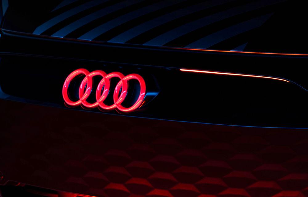Audi publică teasere cu versiunea de serie a lui e-tron GT: sportiva electrică va avea autonomie de 400 de kilometri - Poza 12