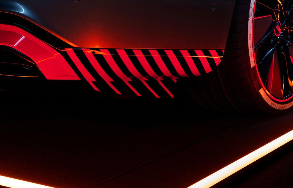 Audi publică teasere cu versiunea de serie a lui e-tron GT: sportiva electrică va avea autonomie de 400 de kilometri - Poza 27