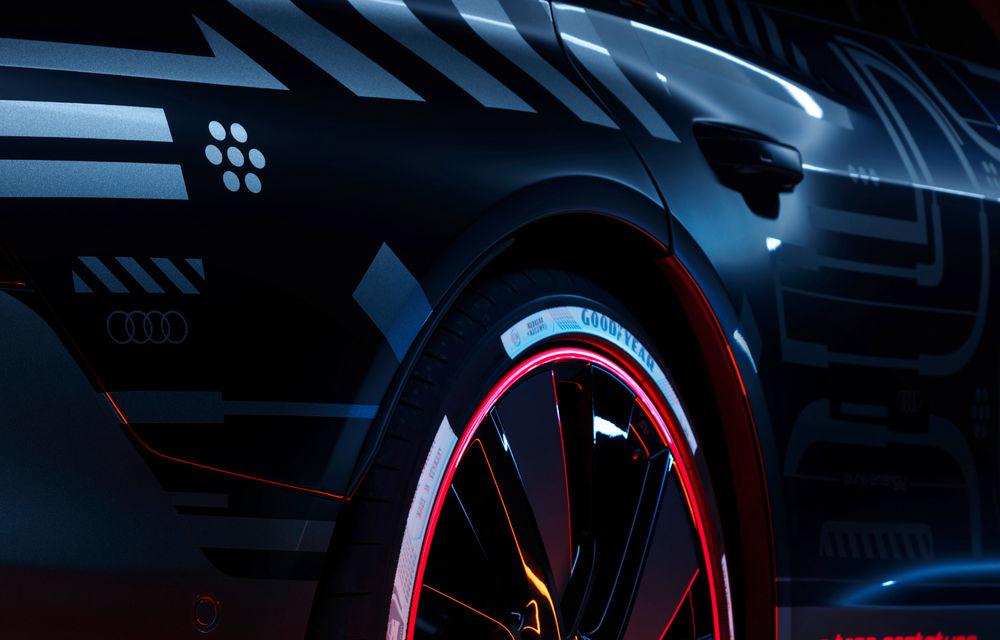 Audi publică teasere cu versiunea de serie a lui e-tron GT: sportiva electrică va avea autonomie de 400 de kilometri - Poza 29