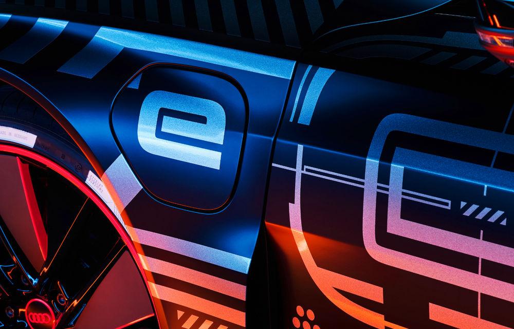 Audi publică teasere cu versiunea de serie a lui e-tron GT: sportiva electrică va avea autonomie de 400 de kilometri - Poza 8