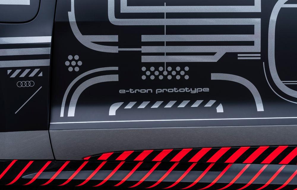 Audi publică teasere cu versiunea de serie a lui e-tron GT: sportiva electrică va avea autonomie de 400 de kilometri - Poza 76