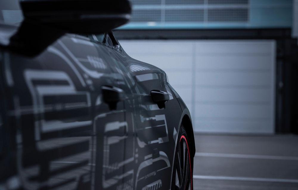 Audi publică teasere cu versiunea de serie a lui e-tron GT: sportiva electrică va avea autonomie de 400 de kilometri - Poza 66