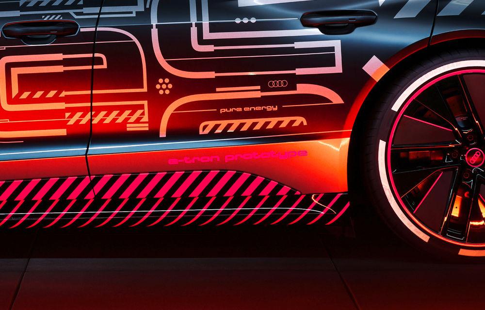Audi publică teasere cu versiunea de serie a lui e-tron GT: sportiva electrică va avea autonomie de 400 de kilometri - Poza 38