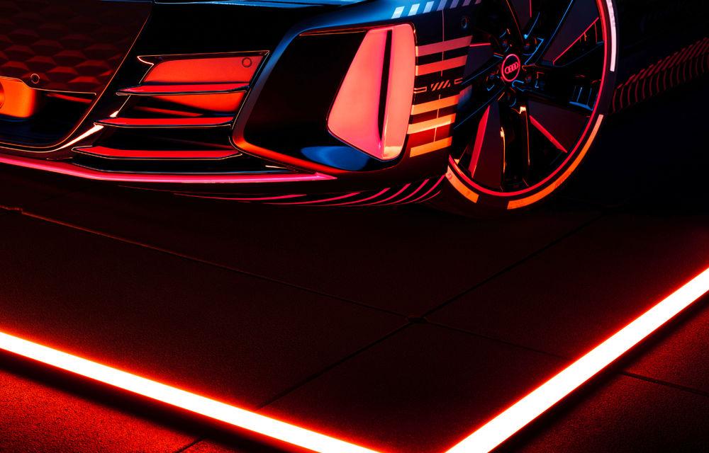 Audi publică teasere cu versiunea de serie a lui e-tron GT: sportiva electrică va avea autonomie de 400 de kilometri - Poza 14