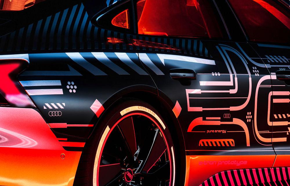 Audi publică teasere cu versiunea de serie a lui e-tron GT: sportiva electrică va avea autonomie de 400 de kilometri - Poza 34