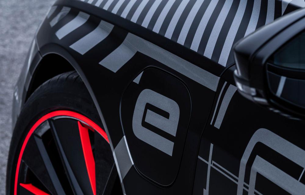 Audi publică teasere cu versiunea de serie a lui e-tron GT: sportiva electrică va avea autonomie de 400 de kilometri - Poza 63