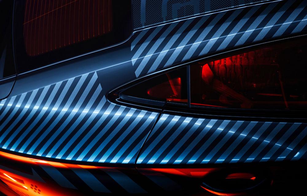 Audi publică teasere cu versiunea de serie a lui e-tron GT: sportiva electrică va avea autonomie de 400 de kilometri - Poza 23
