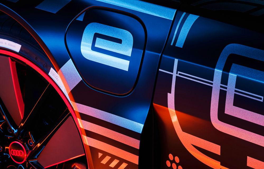 Audi publică teasere cu versiunea de serie a lui e-tron GT: sportiva electrică va avea autonomie de 400 de kilometri - Poza 5