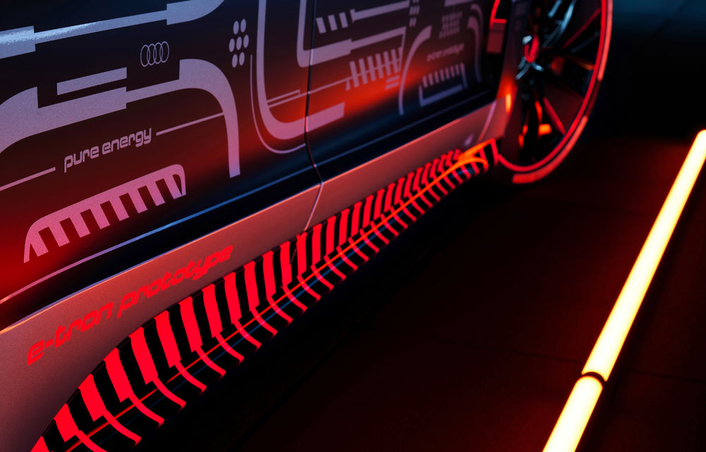 Audi publică teasere cu versiunea de serie a lui e-tron GT: sportiva electrică va avea autonomie de 400 de kilometri - Poza 31