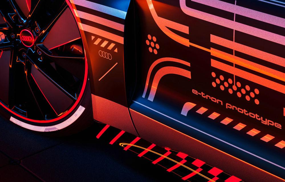 Audi publică teasere cu versiunea de serie a lui e-tron GT: sportiva electrică va avea autonomie de 400 de kilometri - Poza 6