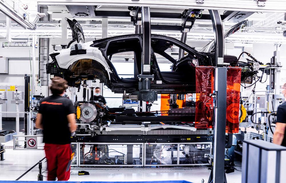 Audi publică teasere cu versiunea de serie a lui e-tron GT: sportiva electrică va avea autonomie de 400 de kilometri - Poza 99
