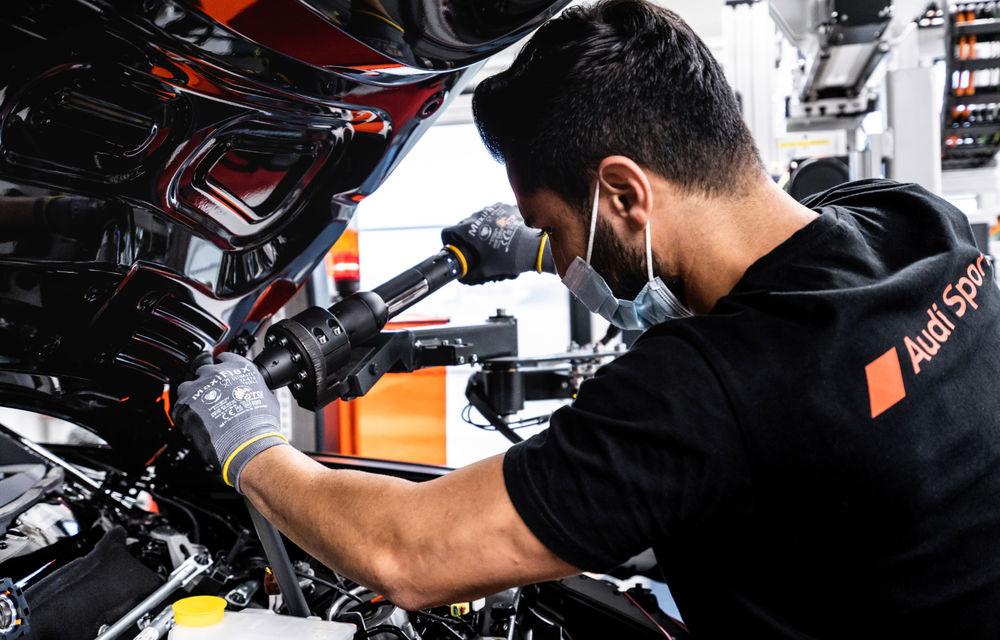 Audi publică teasere cu versiunea de serie a lui e-tron GT: sportiva electrică va avea autonomie de 400 de kilometri - Poza 95