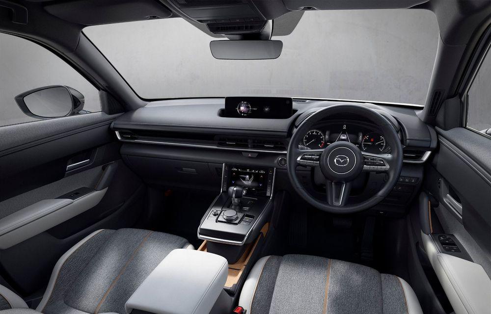 Noutăți pentru Mazda MX-30: versiune cu motor pe benzină pentru piața din Japonia și, din 2022, variantă electrică cu range extender - Poza 9
