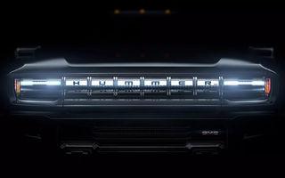 Pick-up-ul electric Hummer EV va fi primul model cu sistem de infotainment dezvoltat pe platforma Unreal, utilizată în celebrul joc video Fortnite