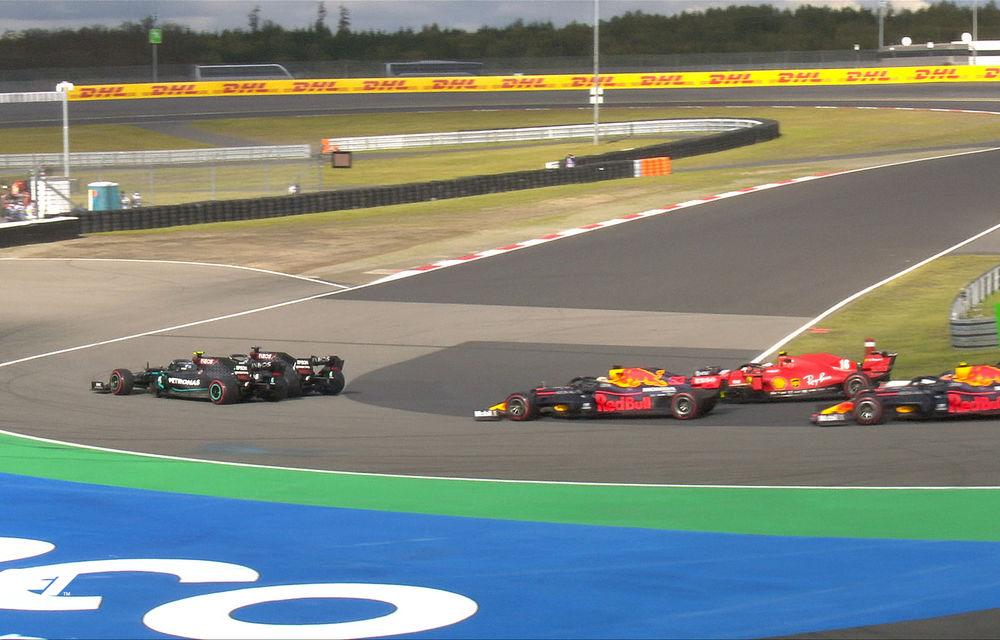 Hamilton a câștigat cursa de la Nurburgring și a egalat recordul de victorii deținut de Schumacher! Podium pentru Verstappen și Ricciardo - Poza 4