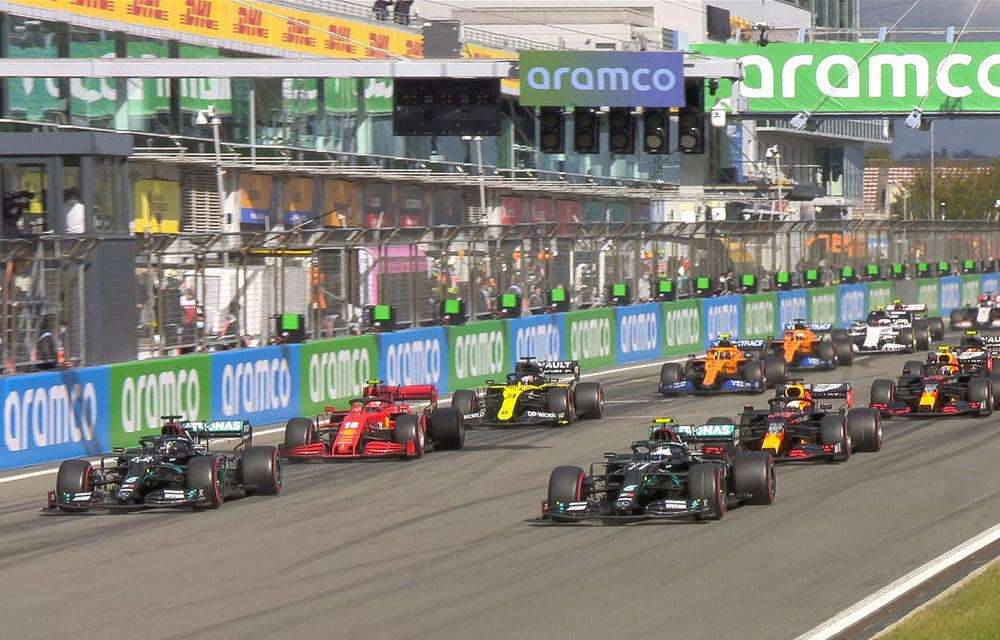 Hamilton a câștigat cursa de la Nurburgring și a egalat recordul de victorii deținut de Schumacher! Podium pentru Verstappen și Ricciardo - Poza 1