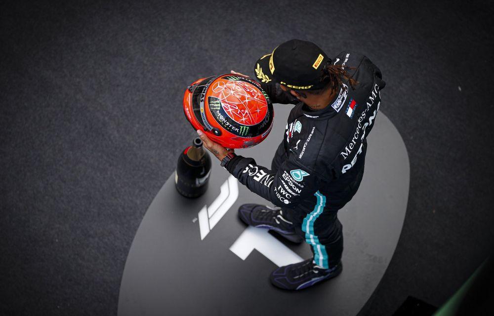 Hamilton a câștigat cursa de la Nurburgring și a egalat recordul de victorii deținut de Schumacher! Podium pentru Verstappen și Ricciardo - Poza 6