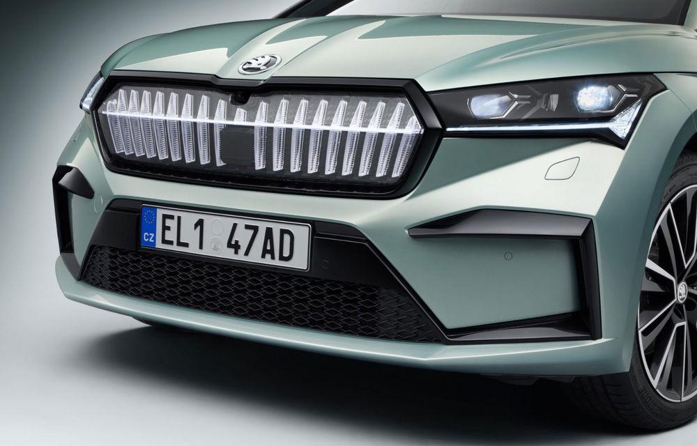 Skoda pregătește o versiune coupe a SUV-ului electric Enyaq iV: modelul ar urma să fie prezentat în 2021 - Poza 1