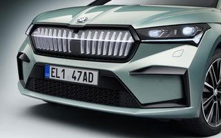 Skoda pregătește o versiune coupe a SUV-ului electric Enyaq iV: modelul ar urma să fie prezentat în 2021