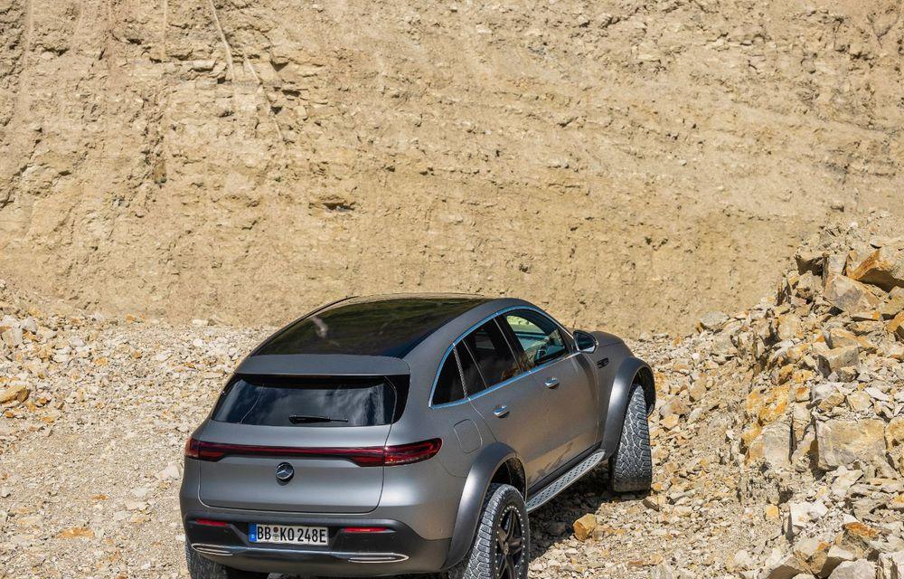Mercedes-Benz prezintă proiectul EQC 4x4²: SUV-ul electric a fost transformat într-un vehicul de off-road - Poza 7