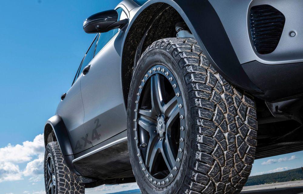 Mercedes-Benz prezintă proiectul EQC 4x4²: SUV-ul electric a fost transformat într-un vehicul de off-road - Poza 26