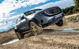 Mercedes-Benz prezintă proiectul EQC 4x4²: SUV-ul electric a fost transformat într-un vehicul de off-road