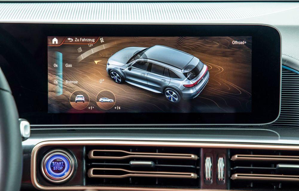 Mercedes-Benz prezintă proiectul EQC 4x4²: SUV-ul electric a fost transformat într-un vehicul de off-road - Poza 30