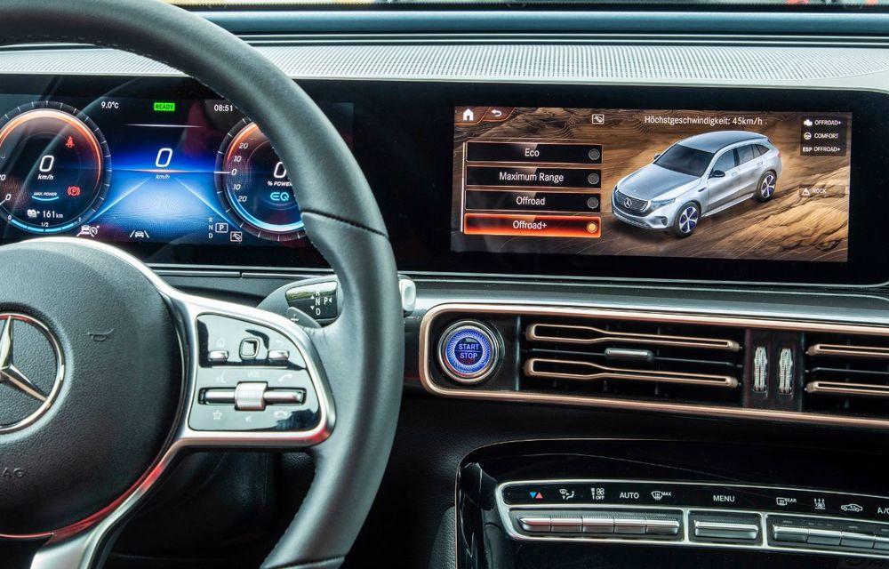 Mercedes-Benz prezintă proiectul EQC 4x4²: SUV-ul electric a fost transformat într-un vehicul de off-road - Poza 31