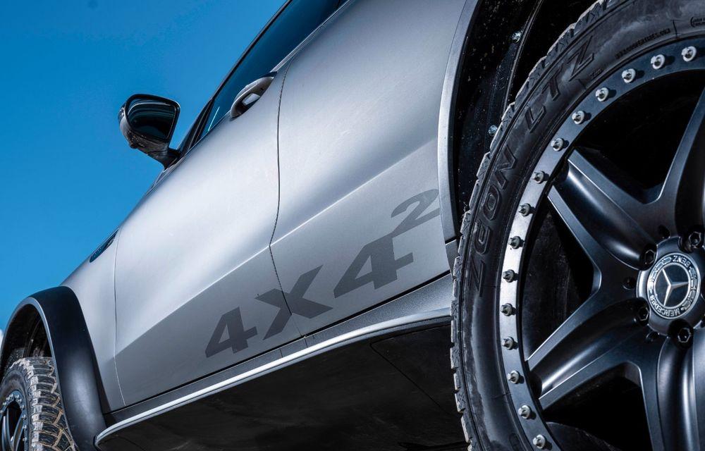 Mercedes-Benz prezintă proiectul EQC 4x4²: SUV-ul electric a fost transformat într-un vehicul de off-road - Poza 27