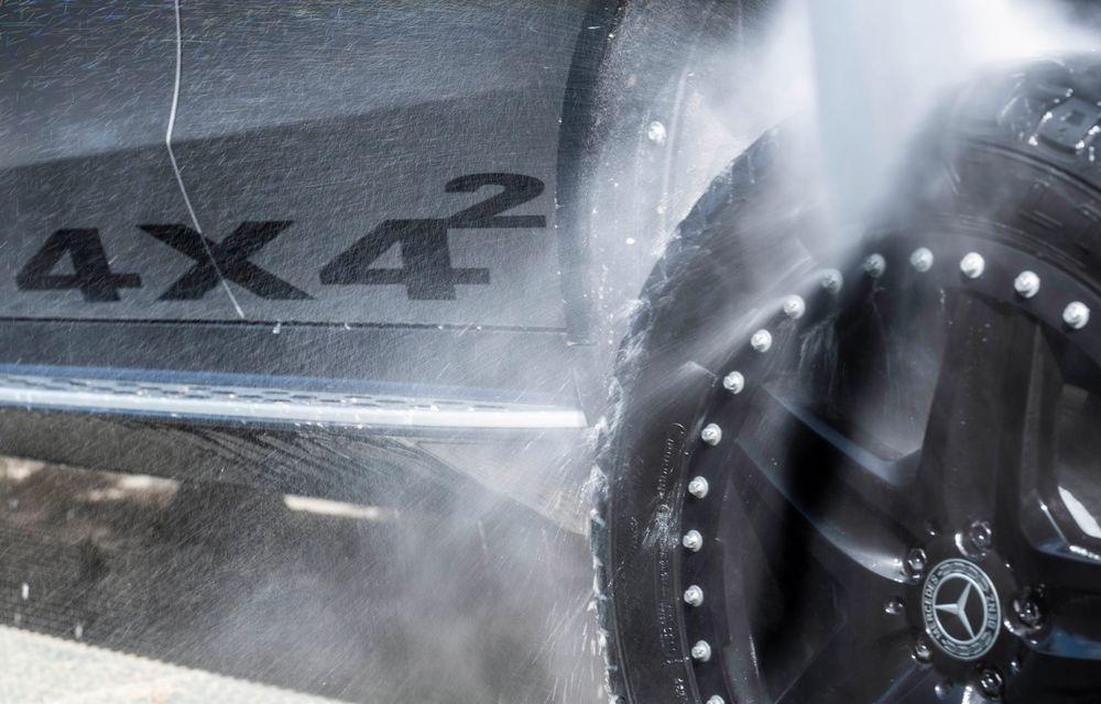 Mercedes-Benz prezintă proiectul EQC 4x4²: SUV-ul electric a fost transformat într-un vehicul de off-road - Poza 29