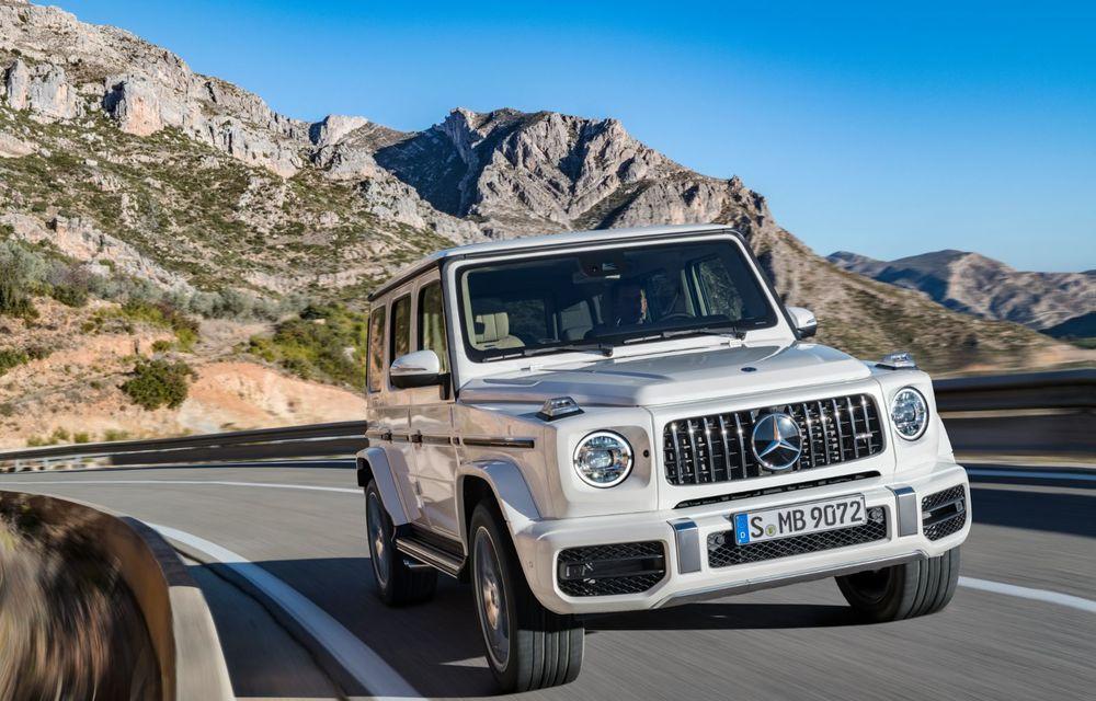 Mașinile din Romanian Roads Luxury Edition: Mercedes-AMG G63, performanțe de model sport într-un pachet complet de off-road - Poza 3