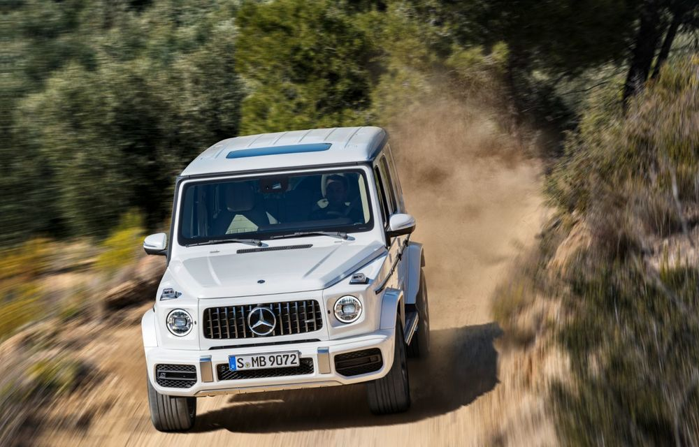 Mașinile din Romanian Roads Luxury Edition: Mercedes-AMG G63, performanțe de model sport într-un pachet complet de off-road - Poza 5