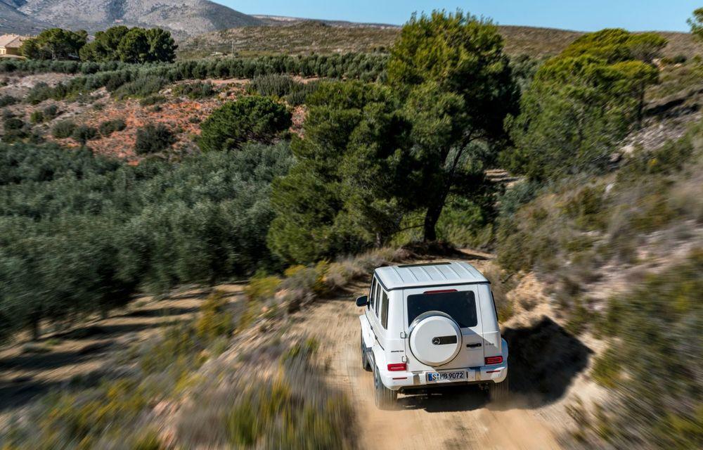 Mașinile din Romanian Roads Luxury Edition: Mercedes-AMG G63, performanțe de model sport într-un pachet complet de off-road - Poza 8