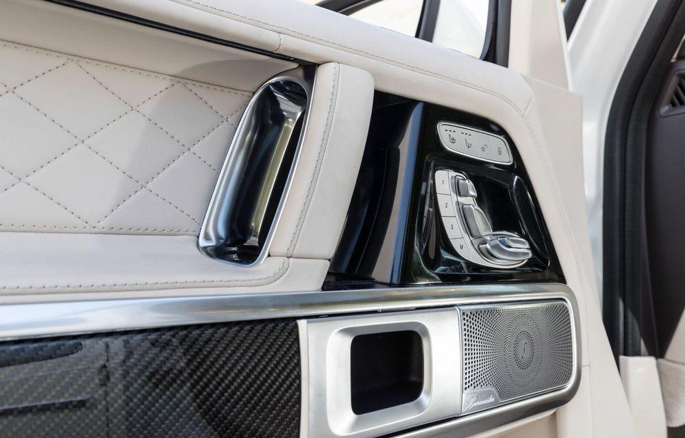 Mașinile din Romanian Roads Luxury Edition: Mercedes-AMG G63, performanțe de model sport într-un pachet complet de off-road - Poza 31