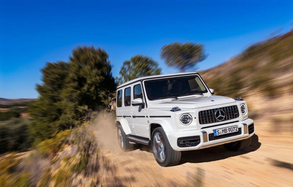 Mașinile din Romanian Roads Luxury Edition: Mercedes-AMG G63, performanțe de model sport într-un pachet complet de off-road - Poza 7