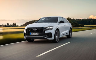 Audi Q8 primește versiuni plug-in hybrid: până la 462 de cai putere și autonomie electrică de 47 de kilometri