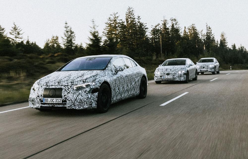 Viitoarele modele electrice Mercedes-Benz vor avea mai multe sunete artificiale pentru motor: șoferul va alege sunetul preferat - Poza 1