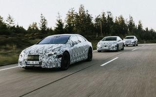 Viitoarele modele electrice Mercedes-Benz vor avea mai multe sunete artificiale pentru motor: șoferul va alege sunetul preferat