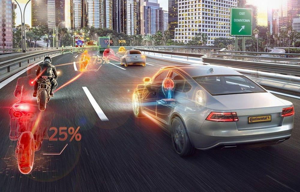 """Continental Iași anunță un concept inovator privind dezvoltarea mașinilor autonome: """"deplasarea în grupuri"""" pe mai multe benzi de circulație pentru fluidizarea traficului - Poza 1"""