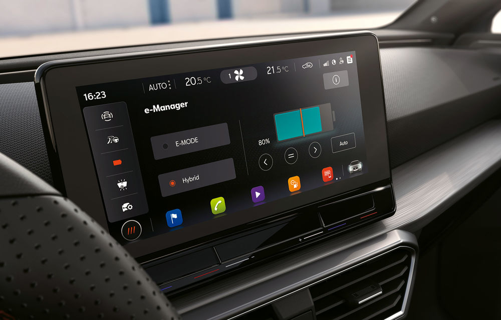 Prețuri pentru Seat Leon plug-in hybrid: hatchback-ul cu 204 CP pleacă de la 29.600 de euro - Poza 3